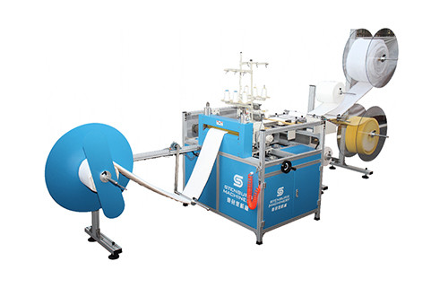 SB-2B Front And Back Double-heads Serging Machine