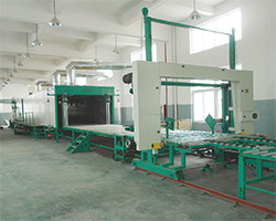 XLF-2400  Horizontal Automatic Continuously Foaming Line